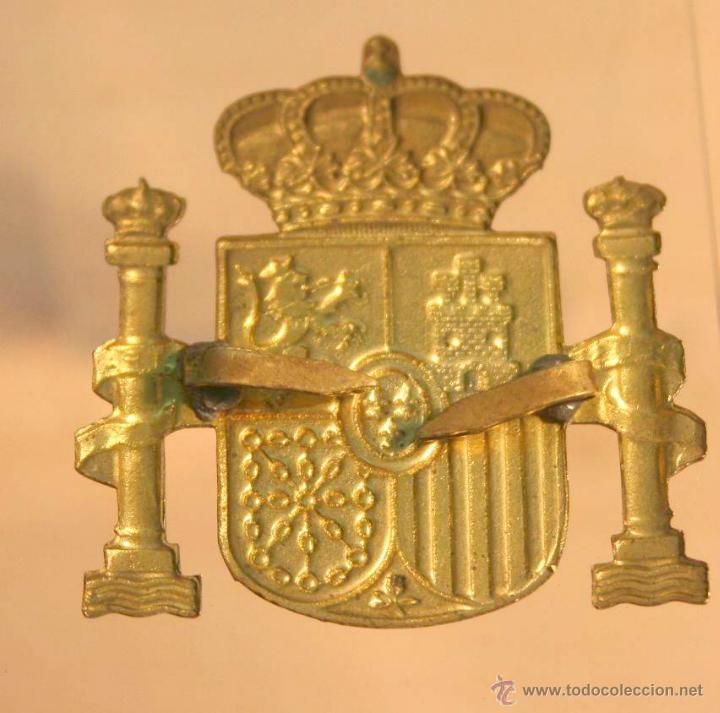 Militaria: insignia de patilla de policia nacional o local principios de la monarquia. militar - Foto 2 - 39577820