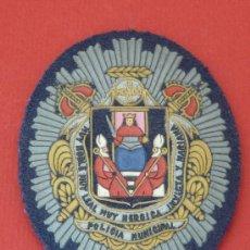 Militaria: PLACA POLICIA MUNICIPAL SEVILLA. Lote 39739776