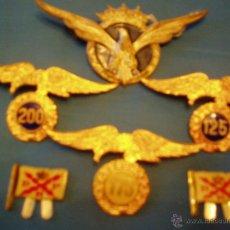 Militaria: PINS,MEDALLAS E INSIGNIAS GUERRA CIVIL Y POSGUERRA. Lote 39814411