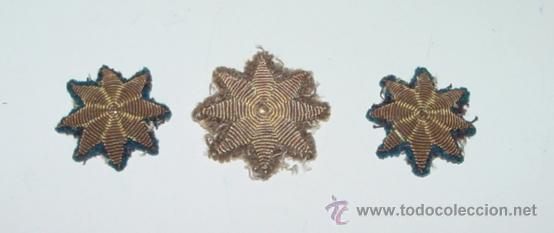Antiguo Lote De Tres Estrellas De Ocho Puntas B Comprar Insignias