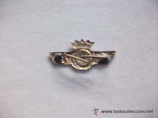 Militaria: EMBLEMA DE AVIACION , ALAS, ROKISKI ..........EPOCA DE FRANCO . .. - Foto 2 - 40292650