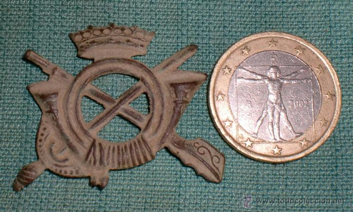 INSIGNIA INFANTERIA FRANQUISTA GUERRA CIVIL TRINCHERA (Militar - Insignias Militares Españolas y Pins)