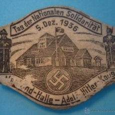 Militaria: TINNIE INSIGNIA ALEMANIA 1933-45. Lote 40432196