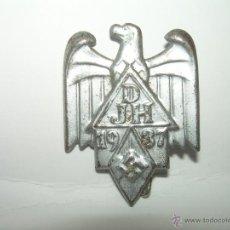 Militaria: ANTIGUA INSIGNIA.......1937.....D.J.H...............AUTENTICA DE LA EPOCA.. Lote 40765602