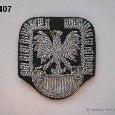 Militaria: POLONIA : INSIGNIA BORDADA DE GORRA, DE OFICIAL DEL EJÉRCITO POLACO. ENVÍO CERTIFICADO GRATUITO.. Lote 40837064