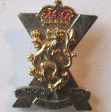 Militaria: INSIGNIA SOLAPA ROYAL REGIMENT OF SCOTLAND GRAN BRETAÑA ESCOCIA HIGHLANDERS. Lote 41075166