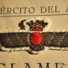 Militaria: AVIACION, ROKISKI BORDADO REGLAMENTO 1946. Lote 41386840