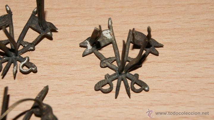 Militaria: Lote de Emblemas de Caballería II República de época Alfonsina de Cuello y Gorra - Foto 6 - 41622654
