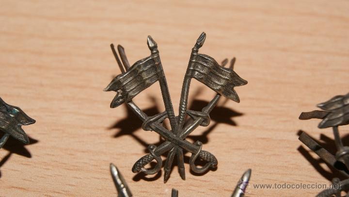 Militaria: Lote de Emblemas de Caballería II República de época Alfonsina de Cuello y Gorra - Foto 8 - 41622654