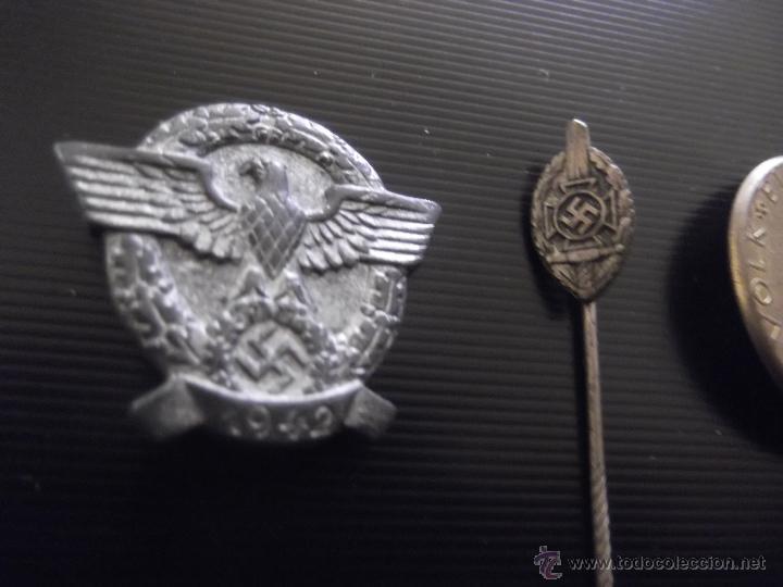 Militaria: lote emblemas tercer reich policia 1942 hitler guerra mundial - Foto 3 - 41634057