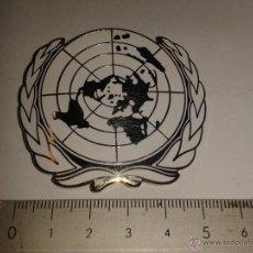 Militaria: PLACA PARA BOINA DE LA ONU. Lote 42402500