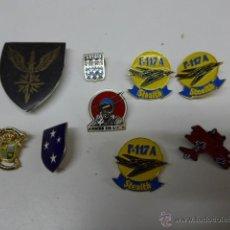 Militaria: LOTE DE PINS MILITARES ANTIGUOS. Lote 42491022