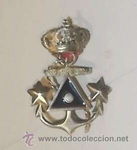 INSIGNIA DE GORRA ESMALTADA A IDENTIFICAR. (Militar - Insignias Militares Españolas y Pins)