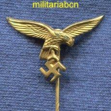 Militaria: ALEMANIA III REICH. INSIGNIA DE SOLAPA DE LA LUFTWAFFE.. Lote 42761634
