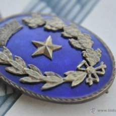 Militaria: AVIACION, DISTINTIVO DE ESTADO MAYOR REGLMENTO DEL 46.. Lote 42920660