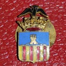 Militaria: INSIGNIA DE SOLAPA EPOCA DE ALFONSO XIII GRAN CALIDAD DE ESMALTE DE CASTELLON?. Lote 127850184