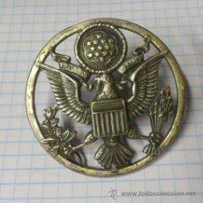 Militaria: INSIGNIA US ARMY DISTINTIVO GRAN EMBLEMA ESCUDO PARA OFICIALES DE LOS ESTADOS UNIDOS ( PARA GORRA ). Lote 43333484