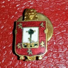 Militaria: INSIGNIA DE SOLAPA DEL ESCUDO DE BILBAO EPOCA DE ALFONSO XIII. Lote 48334815