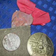Militaria: LOTE DE INSIGNIAS REPUBLICANAS. Lote 43390981