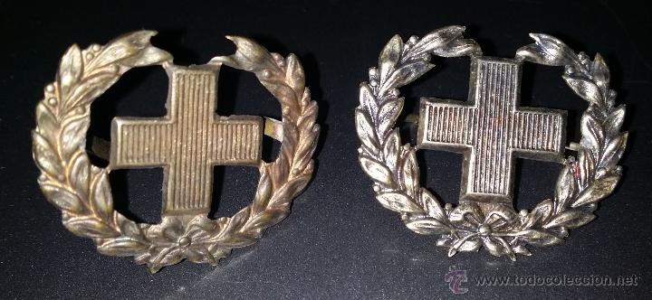 DISTINTIVO DE CUELLO EPOCA DE ALFONSO XIII, (Militar - Insignias Militares Españolas y Pins)