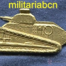 Militaria: PLACA DE CARROS. INSIGNIA DE PECHO. TAMAÑO GRANDE 77MM . GUERRA CIVIL. EJÉRCITO REPUBLICANO. Lote 43846165