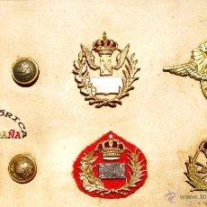 Militaria: COLECCIÓN DE DISTINTIVOS CORREOS ÉPOCA DE ALFONSO XIII. Lote 43922422