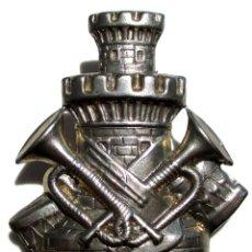 Militaria: ESCUDO DE BRAZO INGENIEROS ALFONSO XIII TAMAÑO GRANDE. Lote 44261425