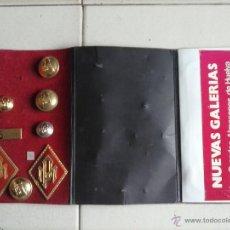Militaria: LOTE 2 ROMBOS POLICÍA MUNICIPAL VARIOS BOTONES ANDALUCÍA . . Lote 44273903