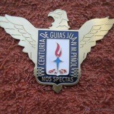 Militaria: PLACA FALANGE ÁGUILA CENTURIA DE GUÍAS JUAN M. PIÑOL, NOS SPECTAS ( VER FOTO ADICIONAL ). Lote 288678533