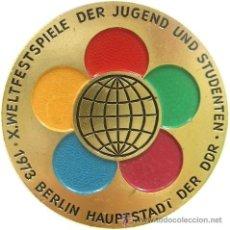 Militaria: INSIGNIA DE WELTSPIELE JUGEND UND STUDENTEN 1973 EN BERLIN ALEMANIA DDR. Lote 44745532