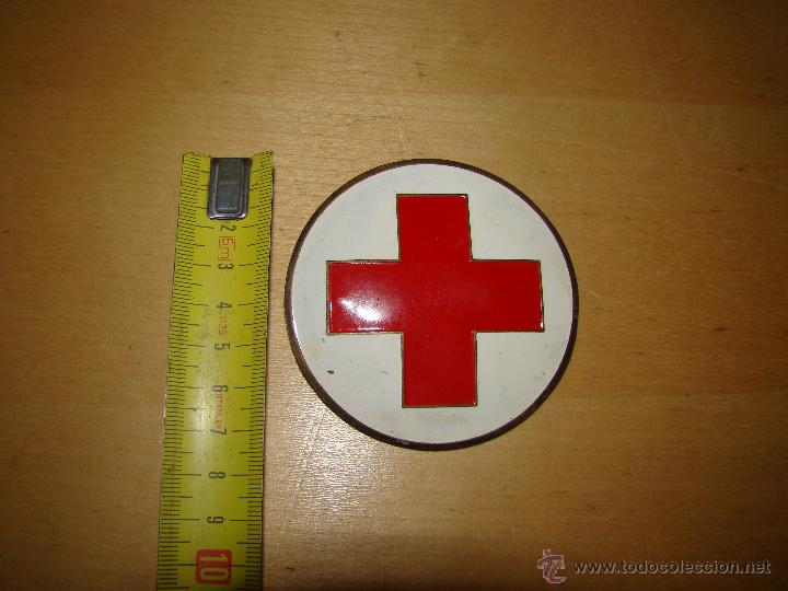 Militaria: Antiguo broche emblema cruz roja o sanitario - Foto 2 - 44825313