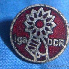 Militaria: INSIGNIA DE LA IGA DDR GARTENBAUAUSTELLUNG ALEMANIA DDR . Lote 44836125