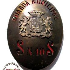 Militaria: CHAPA DE GUARDA MUNICIPAL SAN SEBASTIAN. Lote 44841876
