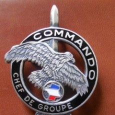 Militaria: TITULO DE COMMANDO JEFE DE GRUPO. FRANCIA. Lote 139602358