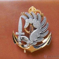 Militaria: EMBLEMA DE PARACAIDISTA DE LA MARINA. FRANCIA. Lote 144101229