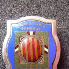 Militaria: (JX-1637)PLACA DE PECHO DE LA COMISARIA GENERAL DE ORDEN PUBLICO CATALUÑA,MOZOS DE ESCUADRA,NUMERADA. Lote 45310455