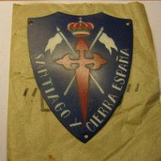 Militaria: INSIGNIA DE CABALLERIA NACIONAL. GUERRA CIVIL .ESPAÑA. ORIGINAL.. Lote 45409102