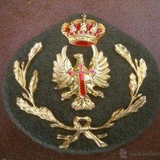 Militaria: ANTIGUO ESCUDO DEL EJÉRCITO ESPAÑOL DE TIERRA. Lote 45474596