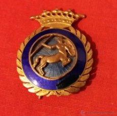 Militaria: INSIGNIA DE OFICIAL-PROFESOR DE ESCUELA DE EQUITACION MILITAR, EPOCA FRANCO 1948-1977. Lote 45475054