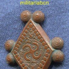 Militaria: ALEMANIA III REICH. WINTERHILFE WERK. INSIGNIA EN PLÁSTICO. DE LA COLECCIÓN SVÁSTICAS. MARCADA.. Lote 45588511