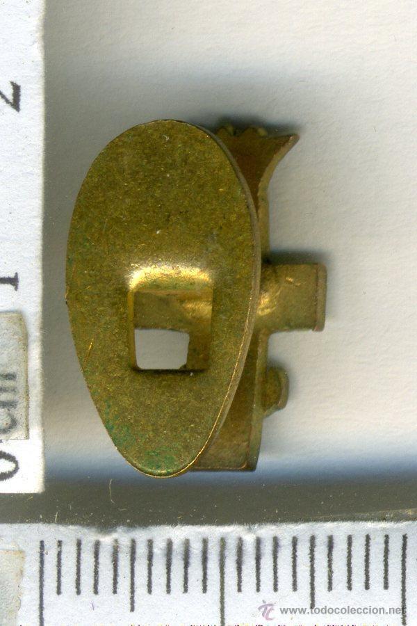 Militaria: insignia militar de solapa al merito naval m distintivo blanco. epoca de franco - Foto 2 - 45785394