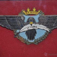 Militaria: AVIACION, INSIGNIA DEL 45 CURSO. Lote 45878122