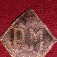 Militaria: INSIGNIA ROMBO POLICIA MILITAR. Lote 45995234