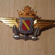 Militaria: INSIGNIA PORTAVIONES FRANCES LAFAYETE (GUERRA DE INDOCHINA). Lote 46053110