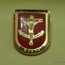 Militaria: IV BANDERA 2º TERCIO DE LA LEGION PIN DEL AÑO 1992. Lote 46211947