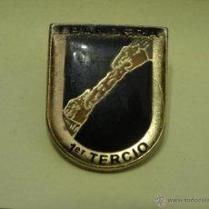 Militaria: I BANDERA 1º TERCIO DE LA LEGION PIN DEL AÑO 1992. Lote 46212046
