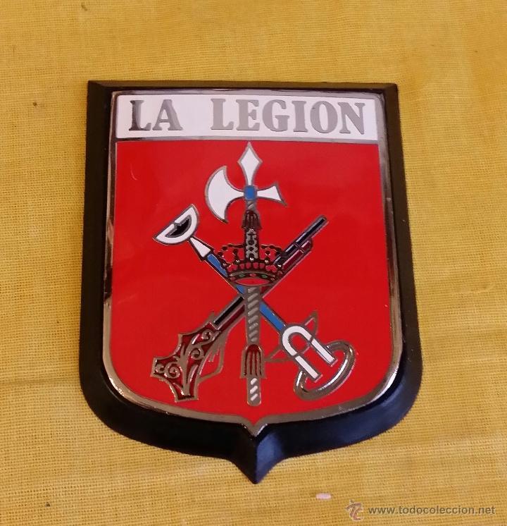 placa escudo metálico con marco para coche, la - Comprar Insignias ...