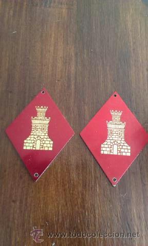 DOS ROMBOS INGENIEROS (Militar - Insignias Militares Españolas y Pins)