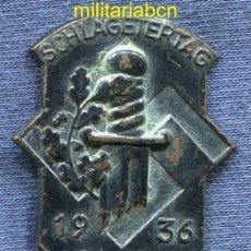 Militaria: ALEMANIA III REICH. INSIGNIA SCHLAGETERTAG 1936.. Lote 46525992