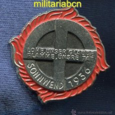 Militaria: ALEMANIA III REICH. INSIGNIA SONNENWEND 1936.. Lote 46526645